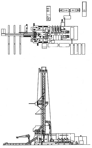 Буровые установки БУ 500/320
