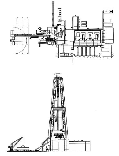 Буровая установка БУ 8000/500